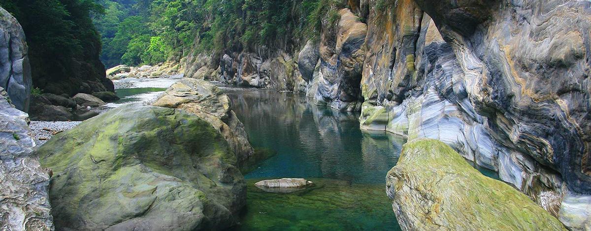 太魯閣峽谷風景