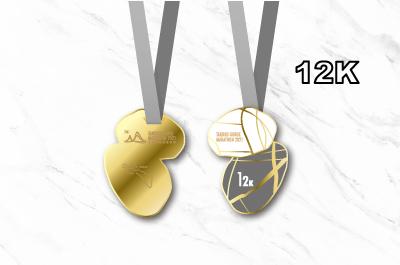 2021太魯閣峽谷馬拉松獎牌-12K