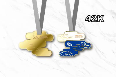 2021太魯閣峽谷馬拉松獎牌-42K