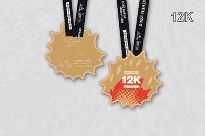 2018太魯閣峽谷馬拉松獎牌-12K