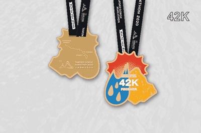 2018太魯閣峽谷馬拉松獎牌-42K